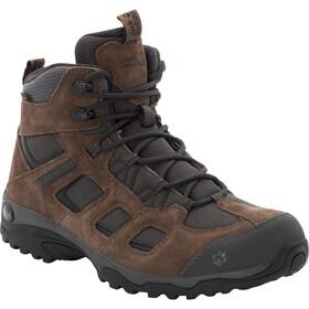 Jack Wolfskin Vojo Hike 2 Texapore Mid-Cut Schuhe Herren dark wood